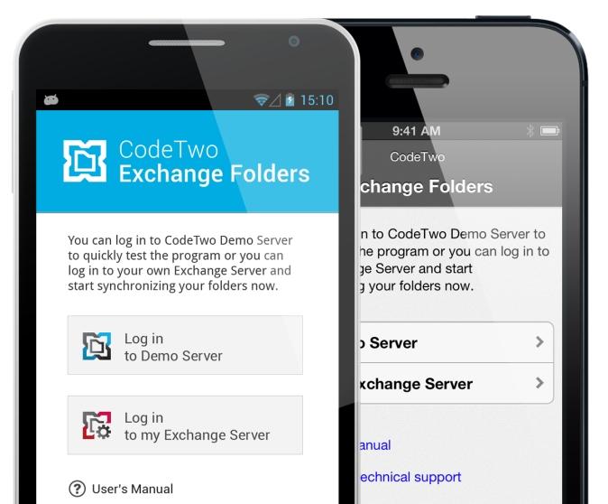 CodeTwo Exchange Folders - mobile App