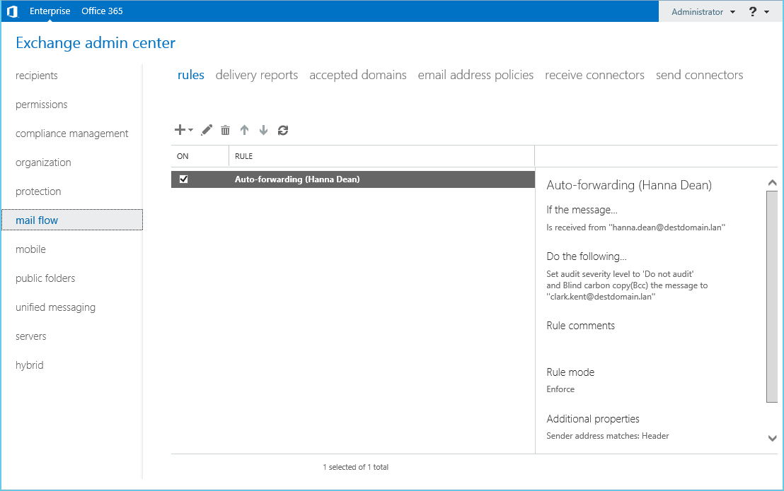 Exchange 2013 Admin Center