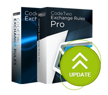 CodeTwo Exchange Rules Update