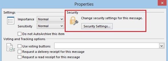 Security-settings