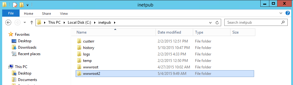 created-folder-example