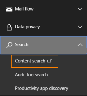 Content search