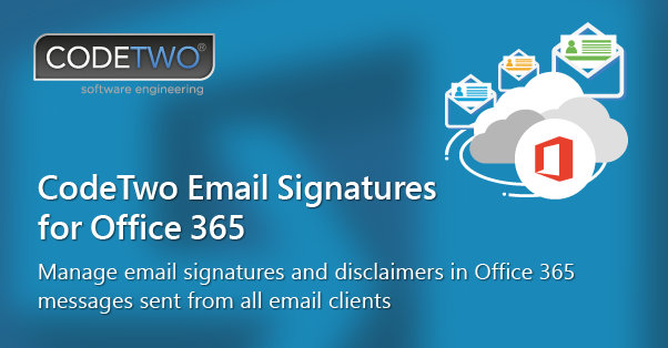 CodeTwoEmailSignaturesForOffice365