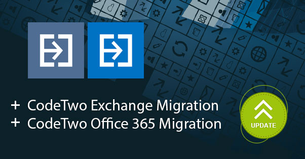 CodeTwo migration tools' update