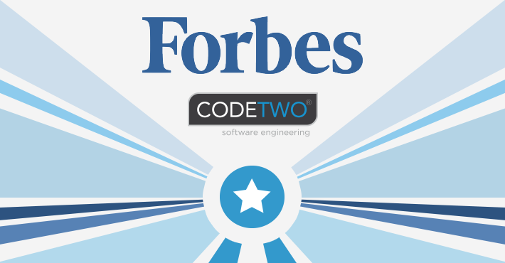 CodeTwo featured in Forbes