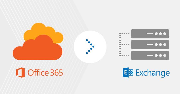 Wie migriert man von Office 365 zurück zu On-premises-Exchange?