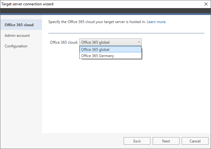 Office-365-Verbindungsassistent