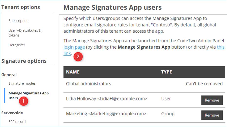 E-Mail-Signatur für freigegebenes Postfach in Office 365