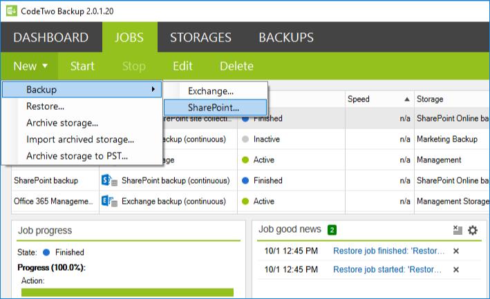 SharePoint-Backup-Job