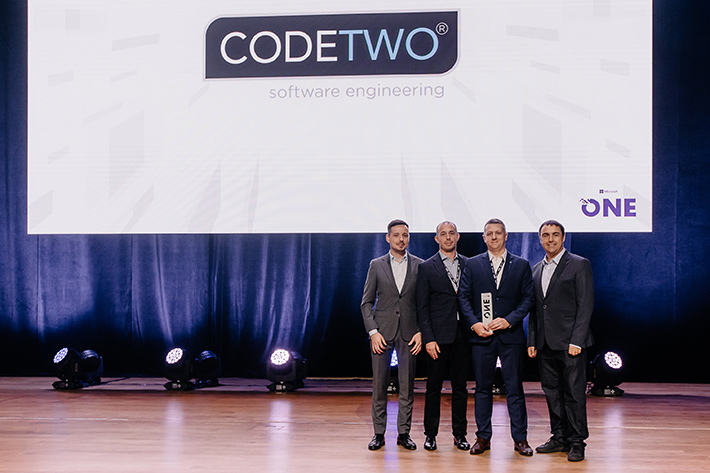 Partner of the Year 2019 Award für CodeTwo