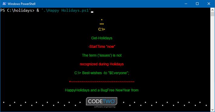 Frohe Weihnachten!  Es ist wieder diese Jahreszeit, in der alle Arbeiten vor Weihnachten zum Stillstand kommen. In dieser festlichen Zeit wünschen wir Ihnen frohe Festtage und einen großen Stapel Geschenke unter Ihren Weihnachtsbäumen. Obwohl wir auch diese magische Zeit feiern, stehen wir Ihnen am 24. Dezember bis 16 Uhr und am 26. Dezember ab 23 Uhr zur Verfügung. Am Silvesterabend stehen wir bis 16 Uhr zur Verfügung und kehren dann am Neujahrstag um 23 Uhr an unsere Schreibtische zurück. Und da Computer keinen Feiertag haben, werden unsere App-Überwachungsdienste die ganze Zeit laufen.  Frohe Weihnachten und ein bugfreies neues Jahr von CodeTwo!