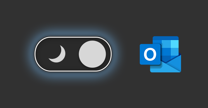 Dark Mode im Outlook