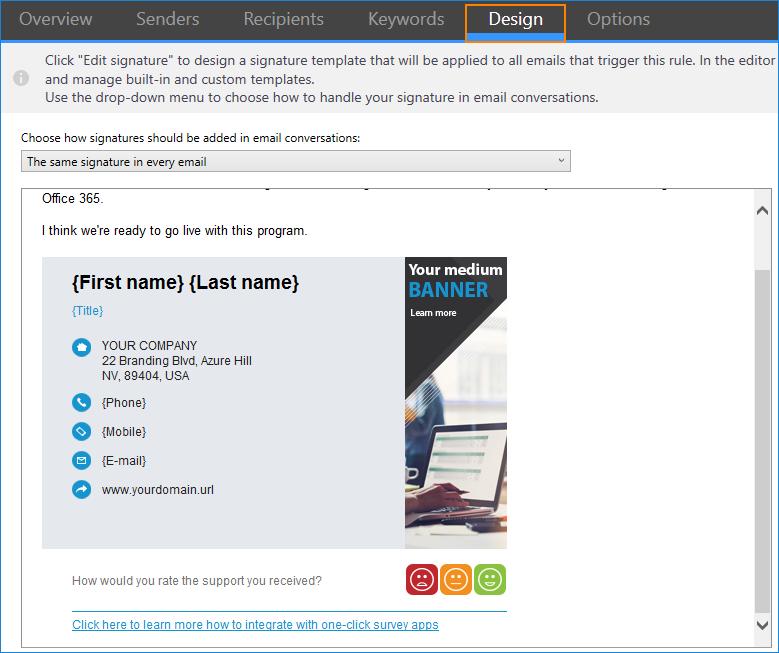 E-Mail-Signaturdesign