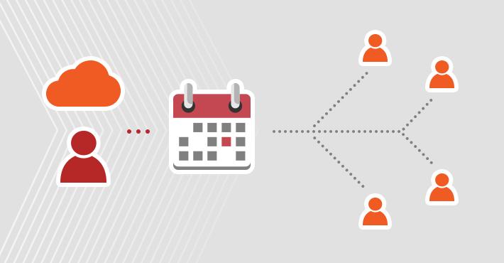 Freigeben des Office 365-Kalenders