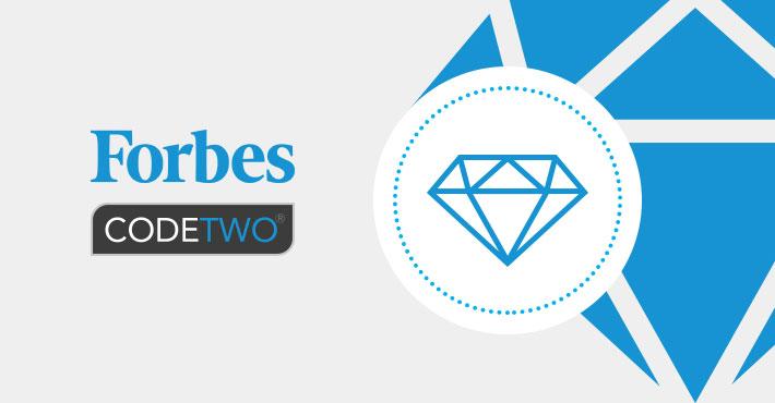 Forbes Diamanten 2020: Auszeichnung für CodeTwo!