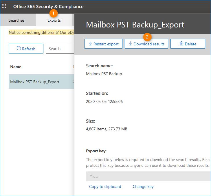 Wie exportiert man Microsoft 365-Postfächer in PST
