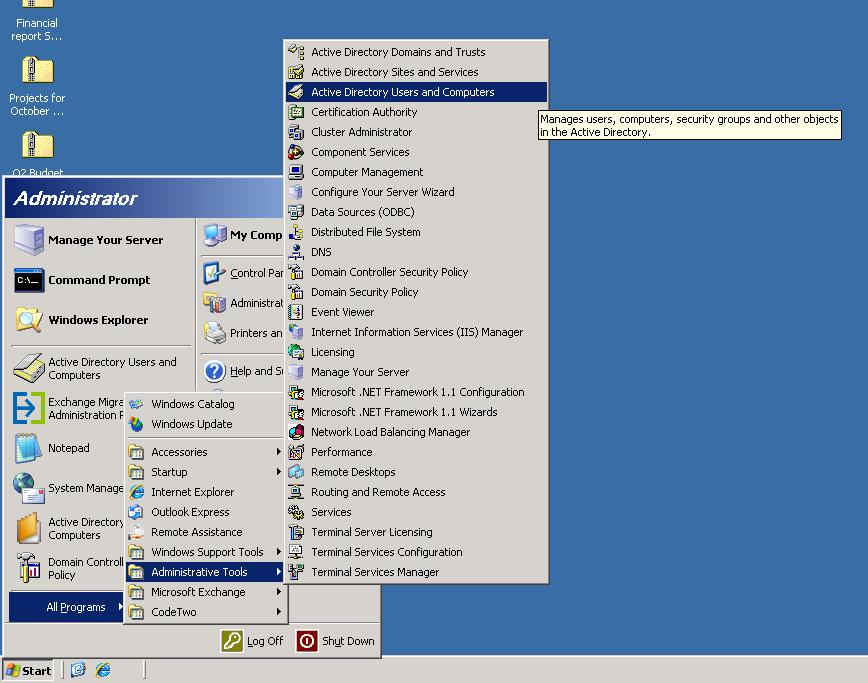 Benutzer aus Active Directory exportieren