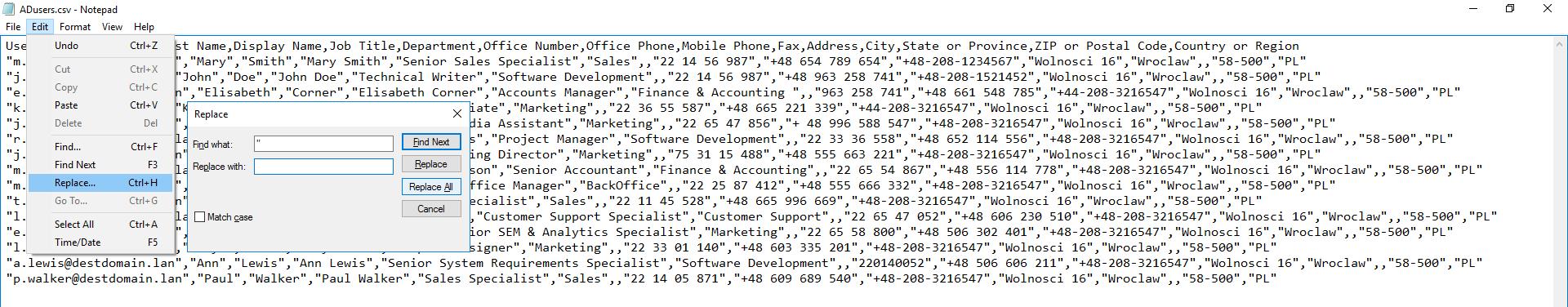 CSV-Datei mit PowerShell erstellen