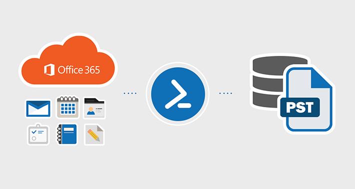 PST-Export der Microsoft 365-Postfächer mit PowerShell
