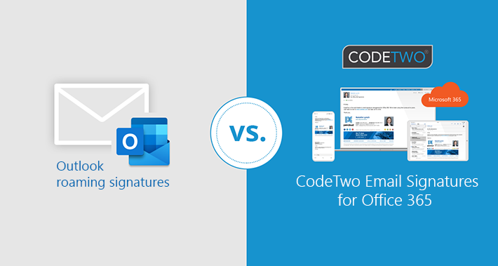Outlook Roaming Signatures vs. E-Mail-Signaturen von CodeTwo