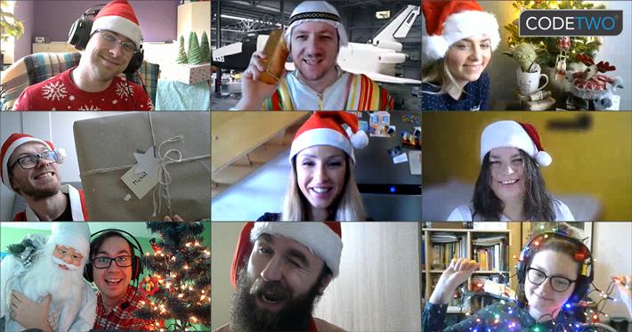 Frohe Weihnachten von CodeTwo: Fernedition
