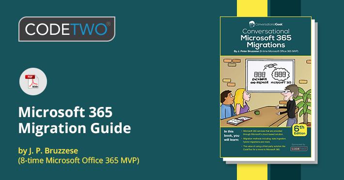 Conversational Microsoft 365 Migrations - 6. Ausgabe jetzt kostenlos zum Download verfügbar