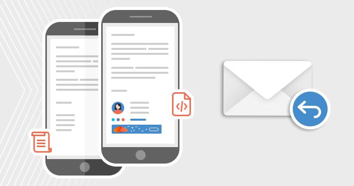 Auf Nur-Text-E-Mails in HTML-Format antworten