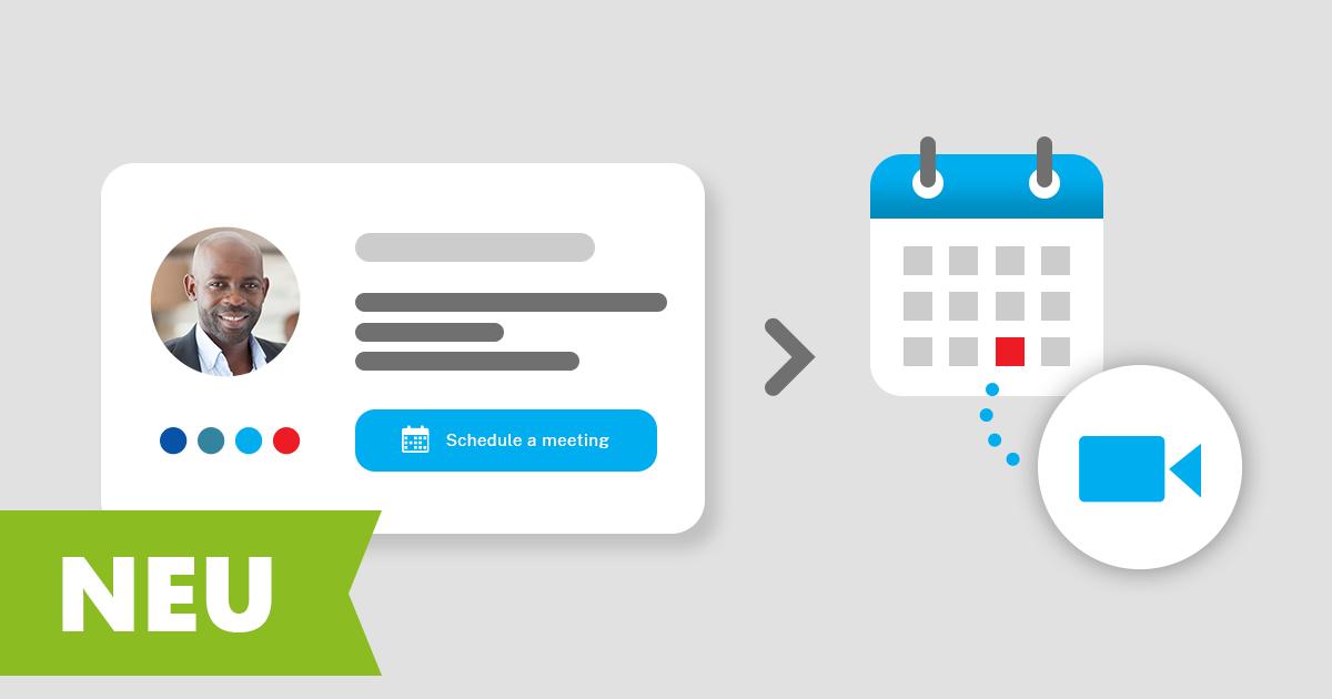 Online-Meetings in CodeTwo Email Signatures for Office 365 erstellen und planen