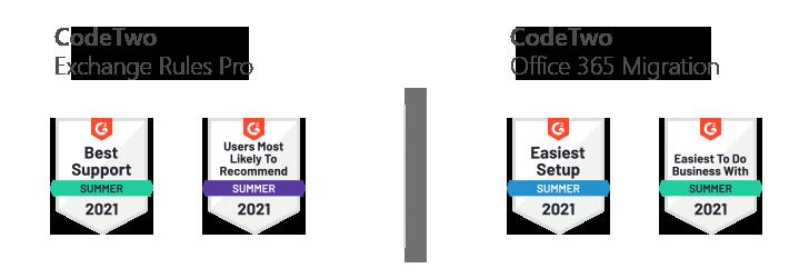 G2-Preise: Andere CodeTwo-Lösungen