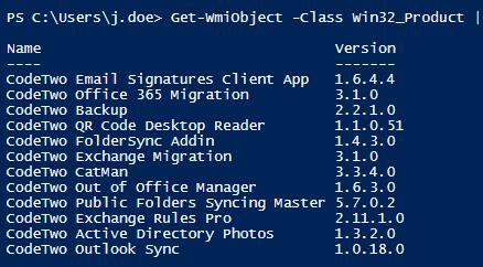 Get-WmiObject: Ergebnisse filtern