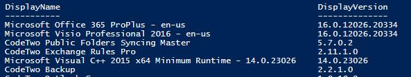 Installierte Software rechnerfern in Registry abfragen