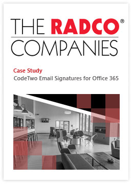 C2 Esig for Office 365 - Fallstudie - The RADCO Companies