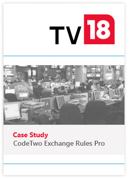 TV18 Broadcast Limited Fallstudie ER Pro