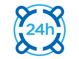24h support