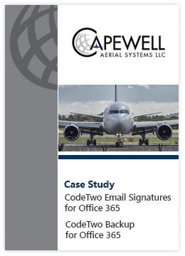 Fallstudie von Capewell - CodeTwo Email Signatures for Office 365 und CodeTwo Backup