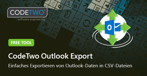 Outlook Kontakte In Csv Umwandeln Codetwo Outlook Export
