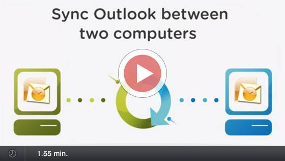 Synchronisieren der Outlook-Ordner mit CodeTwo Outlook Sync - Video