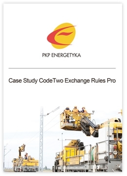 CodeTwo Exchange Rules Pro Case Study by PKP Energetyka