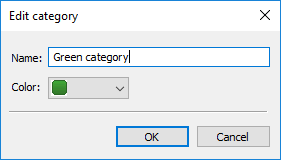 CatMan categories settings
