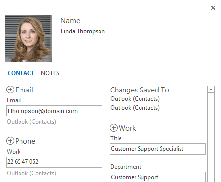 User Photos for Office 365 Outlook