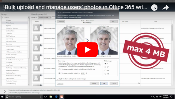 CodeTwo User Photos for Office 365 - video.